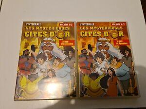 LES MYSTÉRIEUSES CITÉS D'OR L'INTÉGRALE DVD
