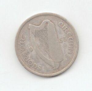 Ireland Silver 1933 Florin-Lot E7