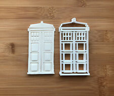 The Tardis Doctor Who Cookie Cutter Fondant Cake Decorating Mold