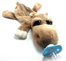 BABY PACIFIER HIPPO /SPIGOT OPEN ALONG SUCKLING BABY DOLL FOR HUG AGE3-6MONTH UP