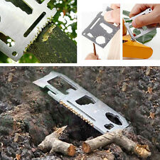 Pocket Tools Card Knife 11in1 Survival Camping Military Multi-Tools Classic New