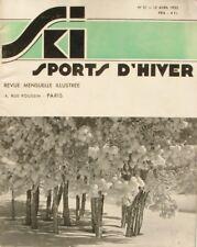 Ski Sports d'Hiver n°31 - 1935 -  Queyras - Davos - Tremplin de Bernina