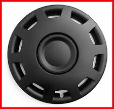 "14"" Wheel trims for Ford KA Fiesta Focus black full set 4 x 14''"