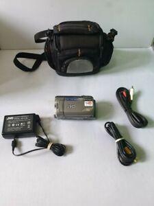 JVC GZ-MS100EK MEMORY CAMCORDER - Silver- 35x oticial zoom #635