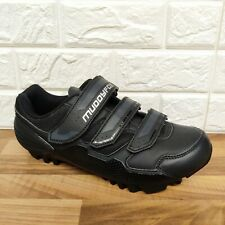 MUDDYFOX MTB 100 Black Cycling Shoes Mens Size 9.5 UK Mountain Bike Off Road