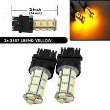 2X 18SMD 5050 Front Turn Signal Light 3157 Amber LED Bulb for Ram 1500 2500 3500
