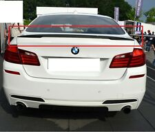BMW 5 SERIES F10 REAR BOOT TRUNK LIP SPOILER PERFORMANCE LOOK NEW M5