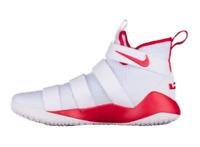 NIKE Lebron Soldier XI TB Promo White/Orange Size 12 Men's Basketball 943155-110