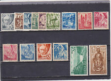 Germany 6N1-15 Mint Hinged & used ( N1,2,3,4,5 & 11 = MNH; N9 = Mint Not Gum)