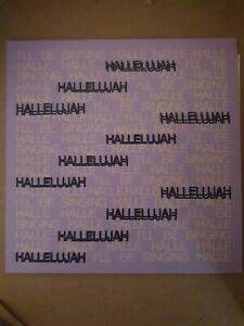 "Oh Wonder – Hallelujah, Ltd Numbered - signed  [New] 7"" Vinyl"