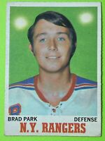 Brad Park RC 1970-71 O-Pee-Chee #67 OPC Rookie NHL