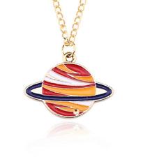 Kids Saturn Necklace