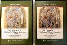 Teaching Company Great Courses Argumentation DVD NEW SEALED Effective Reasoning