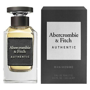 AUTHENTIC MAN / HOMME ABERCROMBIE & FITCH 3.4 oz (100 ml) EDT Spray NEW & SEALED
