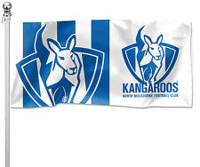 North Melbourne Kangaroos Pole Flag LARGE 1800 x 900mm Gift (Pole not included)
