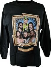 WWE Long Sleeve Boys Kids T-shirt Cena Reigns Rollins