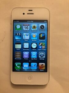 Apple iPhone 4 8GB AT&T BLACK Smart Phone, Ships Quick