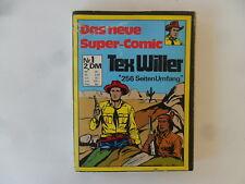 BSV el nuevo super-comic Tex Willer nº 1 volumen de recopilación Estado: 3 p. descripción