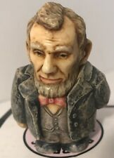 """Pot Belly """"Abraham Lincoln"""" 16th president figurine 2001"""