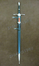3 Pieces Aragorn Strider Sword with knife from LOTR+Wall Plaque