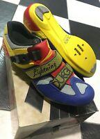 Scarpe bici corsa Duegi Lightning road bike shoes 39,40,42 made in Italy