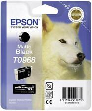 Epson Stylus Photo 2880 genuine Original T0968 Matte Black Ink