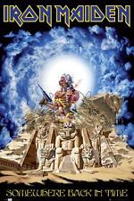 Iron Maiden - Somewhere Back In Time POSTER 61x91cm NEW