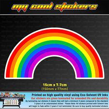 Rainbow Lesbian Gay Pride LGBT Vinyl Sticker Decal for car, ute, 4x4