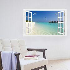 Wandaufkleber Wandtattoo 3D Fenster Wand Bild Wandsticker Wanddeko Aufkleber DIY