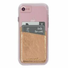 Case-Mate POCKETS Stick On Credit Card Wallet for iPhone and Galaxy - Rose Gold