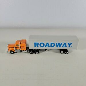 "Road Champs Yatming 1970s Roadway Semi Size 7.4"" x 1"" Wide"