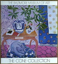 Henry Matisse Magnolia Branch Origl Balt Museum Art Cone Collection Litho 1980