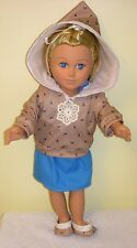 18 inch doll clothes that fit American Girl Doll or My Life Doll