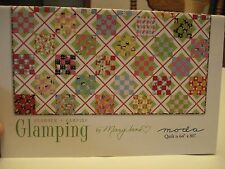 """MODA - Glamour + Camping - Glamping, by Mary Jane, 64"""" x 80"""""""