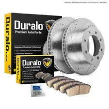 For Ford F250 F350 Super Duty Excursion 99-04 Rear Brake Pads And Rotors Kit