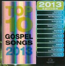 Maranatha Gospel : Top 10 Gospel Songs 2013 CD
