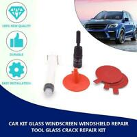 Windscreen Windshield Repair Tool DIY Car Kit Wind For Chip & Crack Glass L2N9