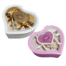Heart Shape Dancing Ballet Girl Music Box Jewelry Storage Cases Lady Girls Gift