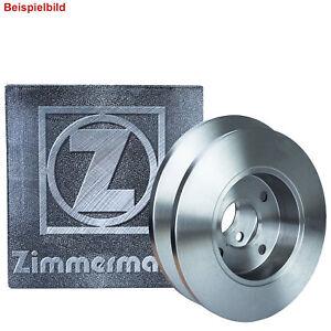2x ZIMMERMANN BREMSSCHEIBEN Ø239 mm SET VORNE FÜR SEAT AROSA VW POLO 1.0 1.4