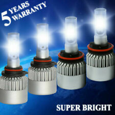 H11 + 9005 LED Headlight 4000W 600000LM Hi-Lo Beam Bulbs 6000K Conversion KIT