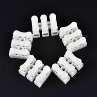 30pcs lot 3pins Electrical Cable Connectors CH3 Quick Splice Lock Wire Terminals