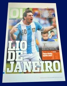 MESSI - FIFA WORLD CUP  - Ole Poster 45 x 30 cm Argentina