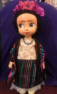 Frida Kahlo Ooak Custom Animator disney doll - Arts Repaint Collector