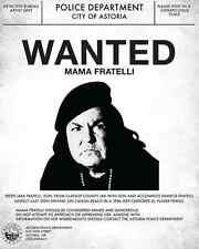 Goonies Mama Fratelli Wanted Poster Flyer/Poster Prop/Replica