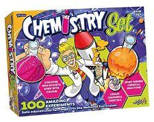 Nouveau Chimie Set Kit avec 100 expériences-action science par John Adams