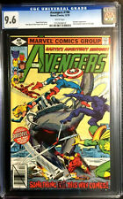 AVENGERS #190 CGC 9.6 JOHN BYRNE DAN GREEN 1979 WHITE PAGES
