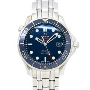 OMEGA Seamaster 300 Co-Axial 212.30.41.20.03.001 Date Blue Dial Mens 90115301