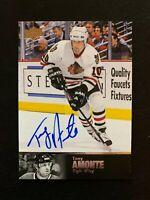 2018-19 Ultimate Collection '97 Ultimate Legends Signatures #AL129 Tony Amonte