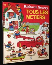 Richard Scarry / Tous Les Metiers First Edition 1977