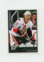17/18 PANINI NHL STICKER #314 MARC METHOT STARS SENATORS *40642